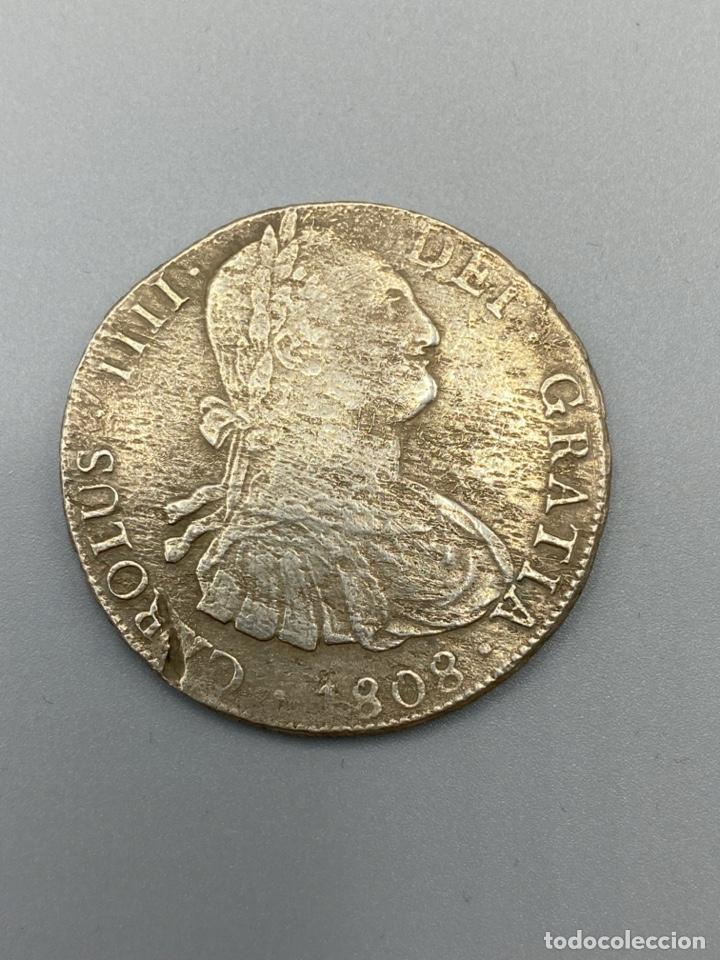Monedas de España: MONEDA. CARLOS IIII. 8 REALES. POTOSI. 1808. PLATA. VER FOTOS - Foto 2 - 222532988
