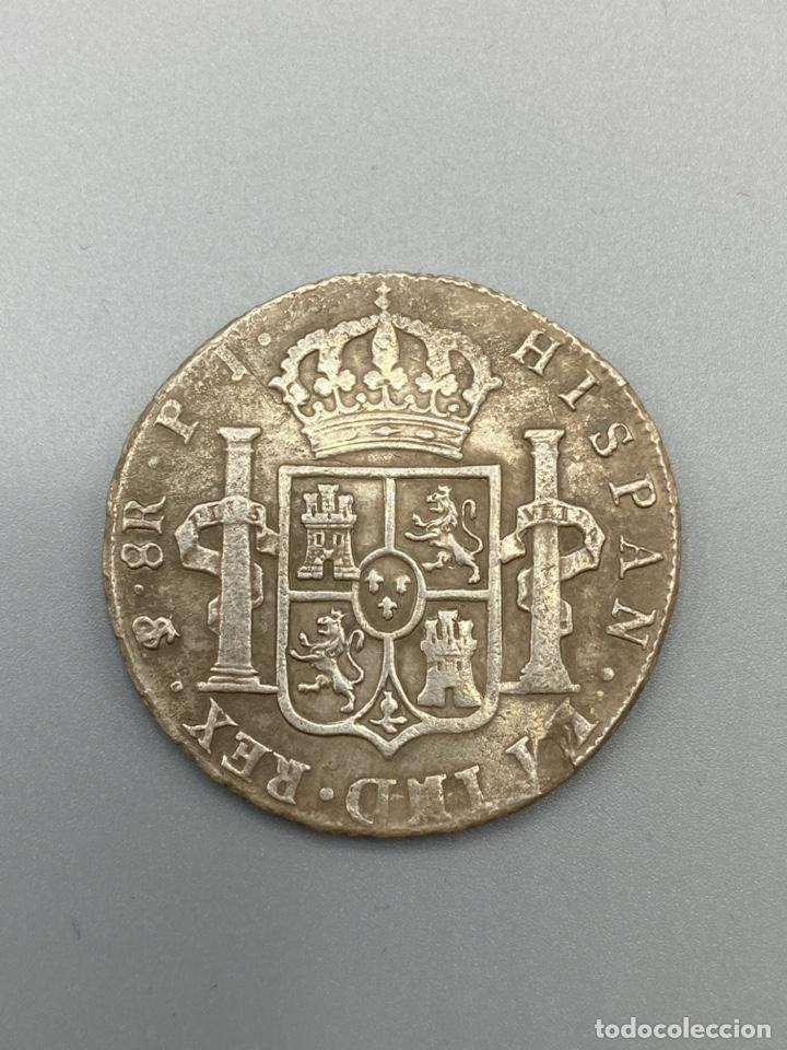 Monedas de España: MONEDA. CARLOS IIII. 8 REALES. POTOSI. 1808. PLATA. VER FOTOS - Foto 3 - 222532988