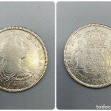 Monedas de España: MONEDA. CARLOS III. 8 REALES. MEXICO F.M. INVERTIDA. 1772. PLATA. VER FOTOS. Lote 222533485