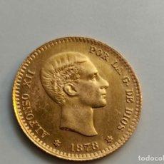 Monedas de España: 10 PESETAS, 1878 DEM. REACUÑACION 1962. CAL. 168. SUP ESPAÑA, ALFONSO XII (1874-1885),. Lote 222364630