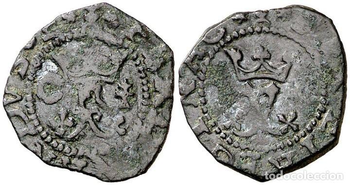 REYES CATÓLICOS. CUENCA. 1 BLANCA. (AC. 27). 1,09 G. MBC+ (Numismática - España Modernas y Contemporáneas - De Reyes Católicos (1.474) a Fernando VII (1.833))