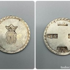 Monedas de España: MONEDA. FERNANDO VII. 5 PESETAS. 1809. TARRAGONA. PLATA. VER FOTOS. Lote 222779431