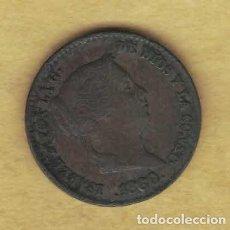 Monedas de España: ISABEL II. 1860. 10 CÉNTIMOS DE REAL. SEGOVIA 065. Lote 222903923