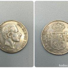 Monedas de España: MONEDA. FILIPINAS. ALFONSO XII. 20 CENTAVOS. 1883. MBC+. VER FOTOS. Lote 223227192