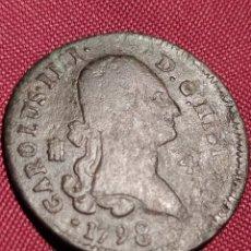 Moedas de Espanha: 4MARAVEDIS CARLOS IV 1798 SEGOVIA. Lote 223499748