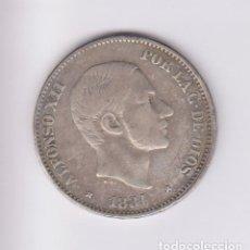 Monedas de España: MONEDAS - ALFONSO XII - 50 CÉNTAVOS DE PESO 1881 - MANILA - (MBC-). Lote 223627377