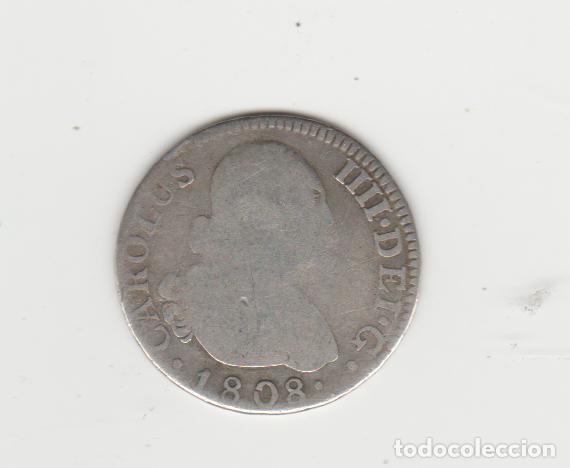 CARLOS IV/IIII- 2 REALES- 1808 (Numismática - España Modernas y Contemporáneas - De Reyes Católicos (1.474) a Fernando VII (1.833))