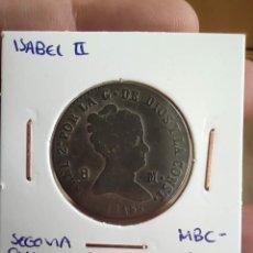Monedas de España: 8 MARAVEDÍES ISABEL II 1845 SEGOVIA MBC-. Lote 223715942