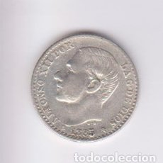 Monedas de España: MONEDAS - ALFONSO XII - 50 CÉNTIMOS 1885 - 8-6 - M.S.-M (MBC). Lote 223890920