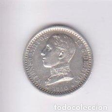 Monedas de España: MONEDAS - ALFONSO XIII - 50 CÉNTIMOS 1910 - 1-0 P.C.-V - (EBC+). Lote 224028006