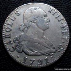 Monedas de España: 4 REALES 1791 MADRID M.F. CARLOS IV. Lote 224195141