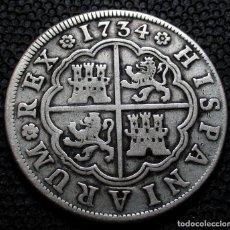 Monedas de España: 4 REALES 1734 MADRID J.F. FELIPE V. Lote 224195412