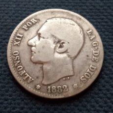 Monedas de España: 1 PESETA 1882 MSM. Lote 224411433