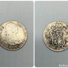 Monedas de España: MONEDA. CARLOS IIII. 2 REALES. 1805. SEVILLA. VER FOTOS. Lote 224834806