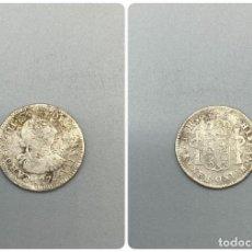 Monedas de España: MONEDA. POTOSI. CARLOS III. 1/2 REAL. 1775. J.R. VER FOTOS. Lote 224835367