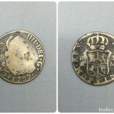 Monedas de España: MONEDA. CARLOS IIII. 2 REALES. 1799. MADRID. VER FOTOS. Lote 224836656