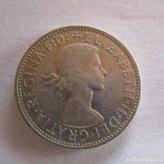 Moedas de Espanha: AUSTRALIA . REINA ISABEL II . UN FLORIN DE PLATA ANTIGUO . AÑO DE 1962. Lote 225114250