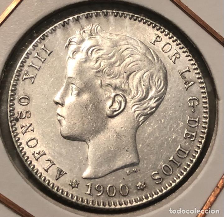 Monedas de España: 1 PESETA 1900*00 PRECIOSA SC- - Foto 2 - 182768903
