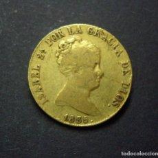 Monedas de España: 80 REALES DE ORO - ISABEL II - SEVILLA 1835 - RARA. Lote 225487895