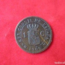Monedas de España: ALFONSO XIII. 1 CENTIMO. 1906 SMV. MUY RARO. #SG. Lote 225830710