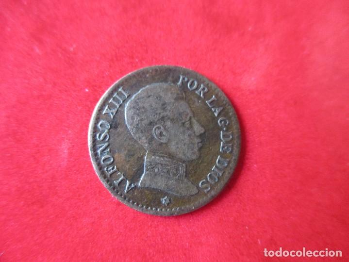 Monedas de España: Alfonso XIII. 1 centimo. 1906 SMV. muy raro. #SG - Foto 2 - 225830710