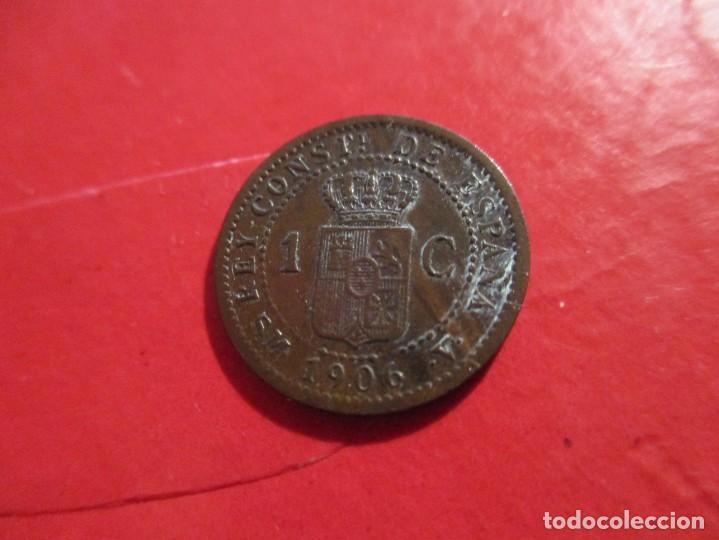 Monedas de España: Alfonso XIII. 1 centimo. 1906 SMV. muy raro. #SG - Foto 5 - 225830710