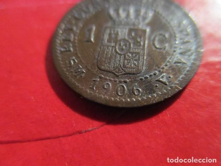 Monedas de España: Alfonso XIII. 1 centimo. 1906 SMV. muy raro. #SG - Foto 3 - 225830710