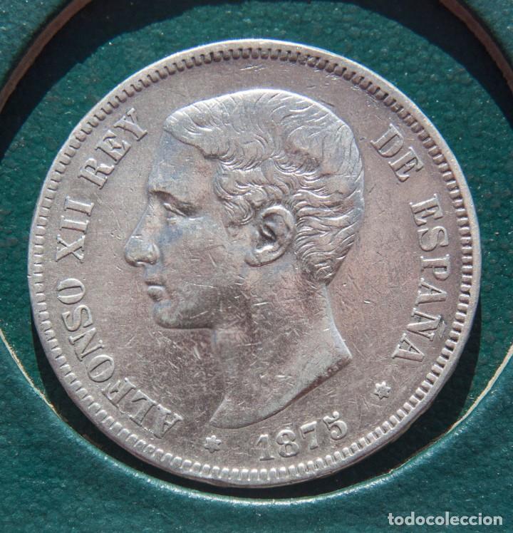 LOTE 11 MONEDAS PLATA DE 5 PTAS ALFONSO XII (Numismática - España Modernas y Contemporáneas - De Isabel II (1.834) a Alfonso XIII (1.931))