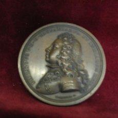 Monedas de España: MEDALLA DE PROCLAMACIÓN DE FELIPE V. AÑO 1701. EN BRONCE. MUY RARA. 6 CM DE DIAMETRO. Lote 226018643