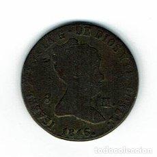 Monedas de España: MONEDA SABEL 2-AÑO 1846 8 MARAVEDIES. Lote 226074065