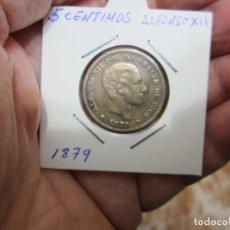 Monedas de España: MONEDA DE 5 CÉNTIMOS DE 1879 ALFONSO XII. Lote 226162360