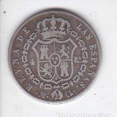 Monedas de España: MONEDA DE 4 REALES DE PLATA DEL AÑO 1848 DE ISABEL II - MADRID. Lote 226468810