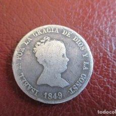 Monedas de España: ESPAÑA , 4 REALES 1849 , MADRID.. Lote 226605235