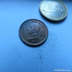 Monedas de España: MONEDA DE COBRE DE DOS CENTIMOS DE ALFONSO XIII AÑO 1912 *12 FLOJA CASI SIN CIRCULAR. Lote 226614620