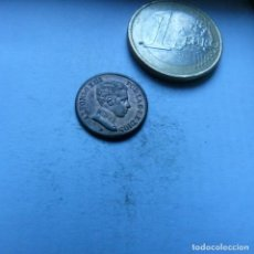 Monedas de España: MONEDA DE COBRE DE UN CENTIMO DE ALFONSO XIII AÑO 1906 *6 SL V SIN CIRCULAR. Lote 226616805