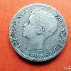 Monedas de España: MONEDA - 1900 - 1 PESETA - PLATA - ALFONSO XIII - SNV - KM 706 RC. Lote 226634305