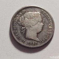 Monedas de España: 1 REAL 1859 MADRID ISABEL II MBC+. Lote 226642850