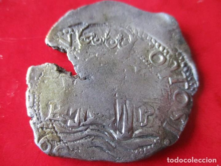 FELIPE IV. 8 REALES DE PLATA. MACUQUINA 1660 POTOSI. #MN (Numismática - España Modernas y Contemporáneas - De Reyes Católicos (1.474) a Fernando VII (1.833))