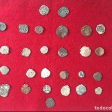Monedas de España: LOTE DE ANTIGUAS MONEDAS DE LOS AUSTRIAS.. Lote 226792635