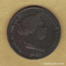 Monedas de España: ISABEL II 1860 SEGOVIA 25 CÉNTIMOS DE REAL 124. Lote 227122495