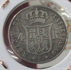 Monedas de España: ISABEL II. MONEDA DE 4 REALES. 1853. SEVILLA. PLATA.. Lote 227139770