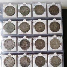 Monete da Spagna: DUROS DE PLATA EXCELENTE CALIDAD PRECIO POR UNIDAD INVERSIÓN. Lote 267825844