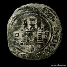 Moedas de Espanha: REYES CATÓLICOS, 2 MARAVEDIS DE SEVILLA - 24 MM / 4,49 GR.. Lote 227813635