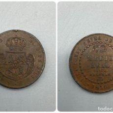 Monedas de España: MONEDA. ISABEL II. 1/2 REAL - MEDIO REAL. 1850. SEGOVIA. VER FOTOS. Lote 228097485