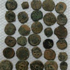 Monedas de España: LOTE DE 30 MONEDAS ANTIGUAS. Lote 228279961