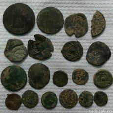 Monedas de España: LOTE DE 18 MONEDAS ANTIGUAS. Lote 228283850