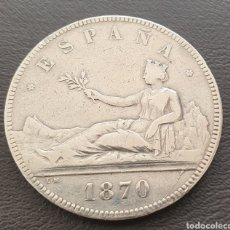 Monedas de España: MONEDA 5 PESETAS 1870. Lote 228303850