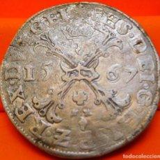 Monedas de España: ESPAÑA,IMP. ESPAÑOL EN FLANDES, PATAGÓN,1567.FELIPE II.BRUJAS.PLATA. (267). Lote 228345020