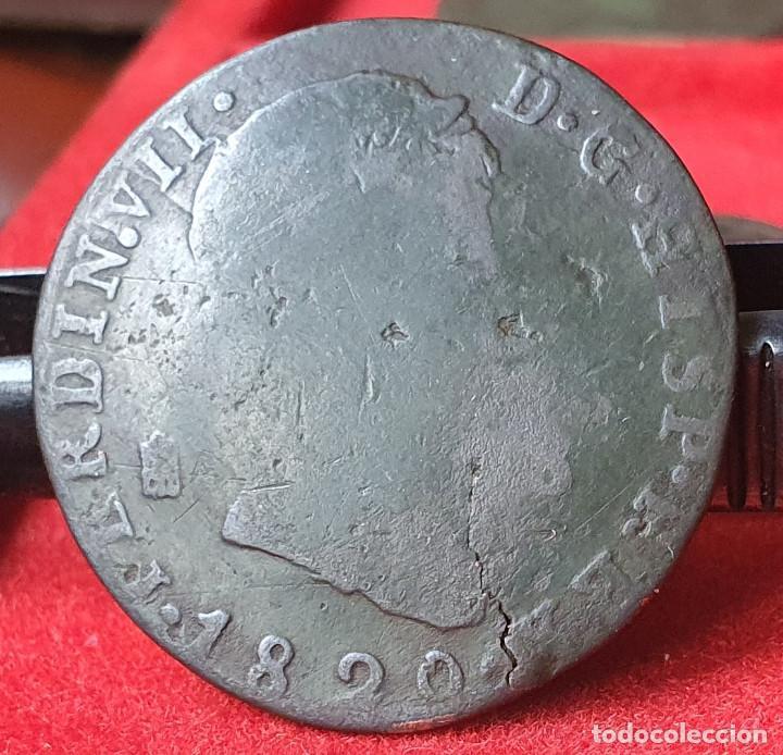 FERNANDO VII SEGOVIA 8 MARAVEDIS 1820 (Numismática - España Modernas y Contemporáneas - De Reyes Católicos (1.474) a Fernando VII (1.833))