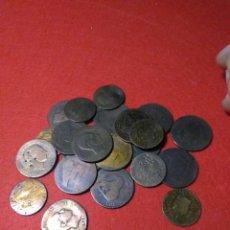 Monedas de España: LOTE DE MONEDAS ESPAÑOLAS ,ISABEL II ,GOBIERNO PROVISIONAL ,ALFONSO XII. Lote 229303835